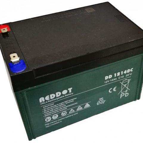 Acumulator stationar plumb acid REDDOT 12V 14Ah AGM VRLA Deep Cycle [0]
