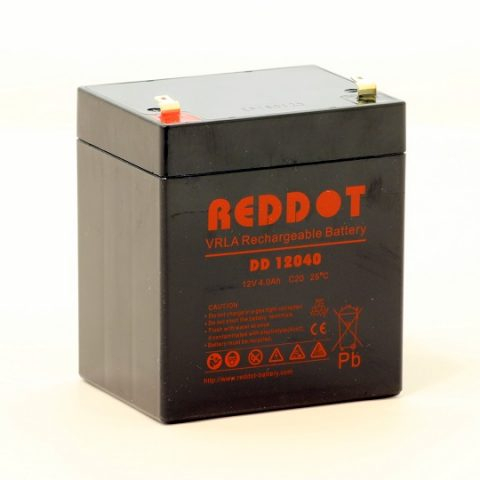 Acumulator stationar plumb acid REDDOT 12V 4Ah AGM VRLA [0]