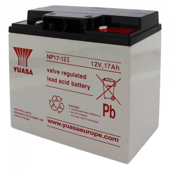Acumulator stationar plumb acid YUASA 12V 17Ah AGM VRLA [1]