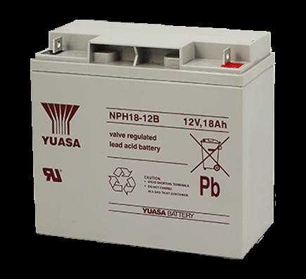 Acumulator stationar plumb acid YUASA 12V 18Ah AGM VRLA High Rate [1]