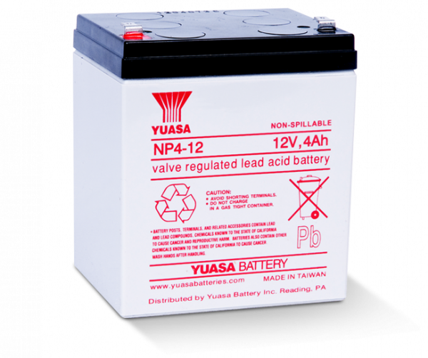 Acumulator stationar plumb acid YUASA 12V 4Ah AGM VRLA [2]