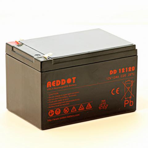 Acumulator stationar plumb acid REDDOT 12V 12Ah AGM VRLA [0]