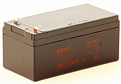 Acumulator stationar plumb acid REDDOT 12V 3.2Ah AGM VRLA [0]