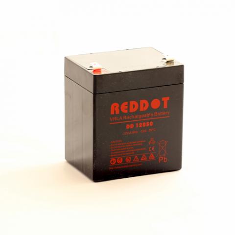 Acumulator stationar plumb acid REDDOT 12V 5Ah AGM VRLA [0]