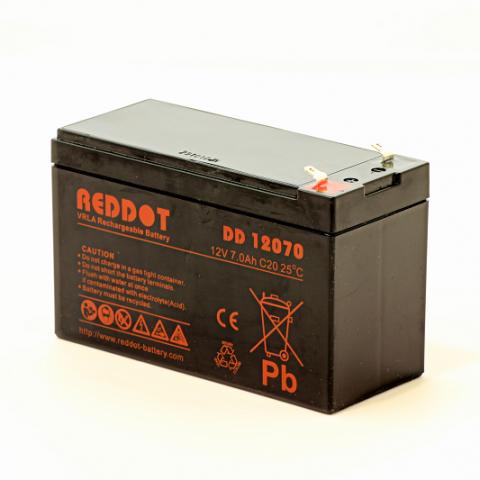 Acumulator stationar plumb acid REDDOT 12V 7Ah T1 AGM VRLA [0]