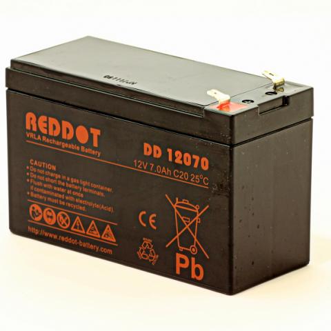 Acumulator stationar plumb acid REDDOT 12V 7Ah T2 AGM VRLA [0]