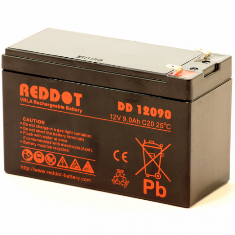Acumulator stationar plumb acid REDDOT 12V 9Ah T2 AGM VRLA [0]