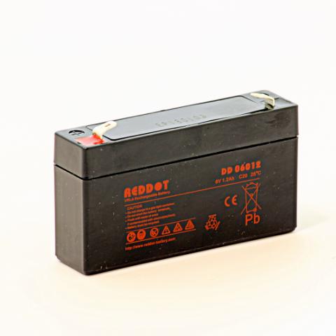 Acumulator stationar plumb acid REDDOT 6V 1.2Ah AGM VRLA [0]