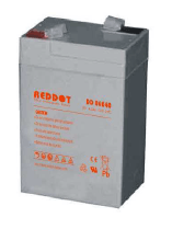 Acumulator stationar plumb acid REDDOT 6V 4Ah AGM VRLA [0]