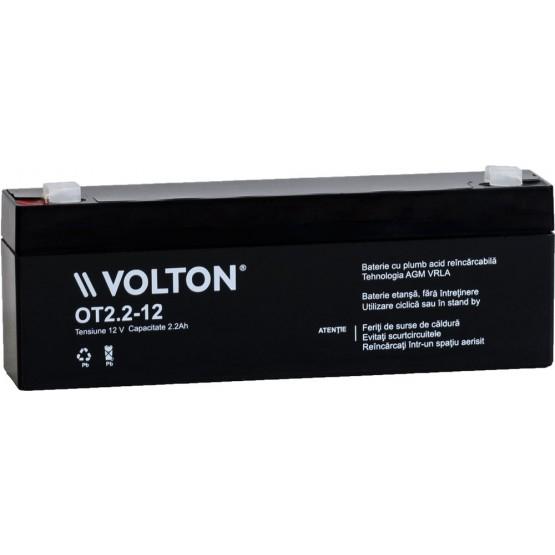 Acumulator stationar plumb acid VOLTON 12V 2.2Ah AGM VRLA [0]
