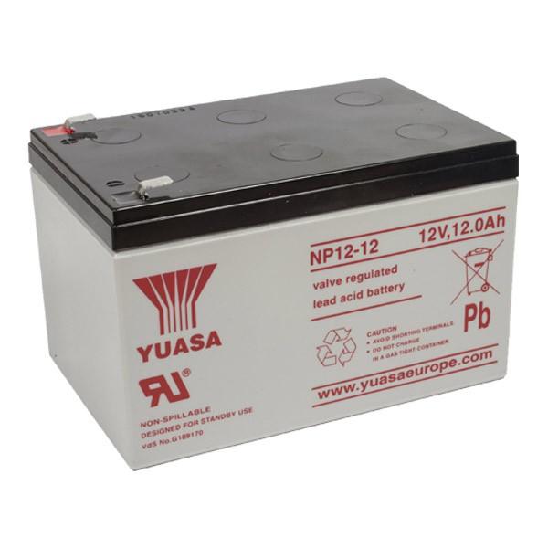 Acumulator stationar plumb acid YUASA 12V 12Ah AGM VRLA [0]