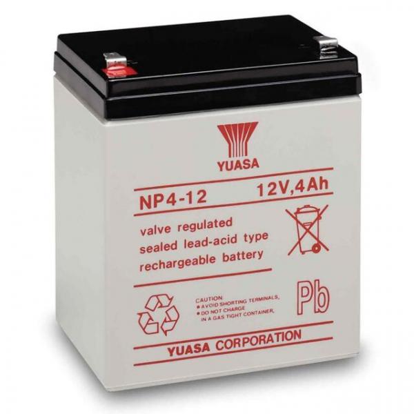 Acumulator stationar plumb acid YUASA 12V 4Ah AGM VRLA [0]