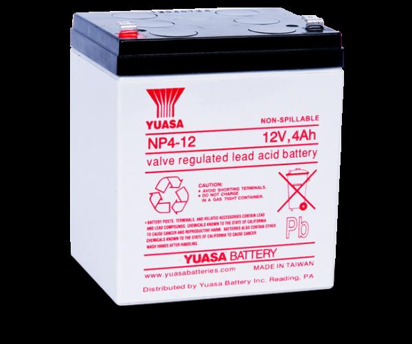 Acumulator stationar plumb acid YUASA 12V 4Ah AGM VRLA [1]