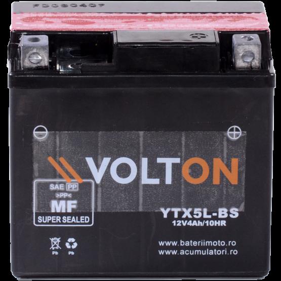Baterie moto Volton AGM 12V 4Ah [1]