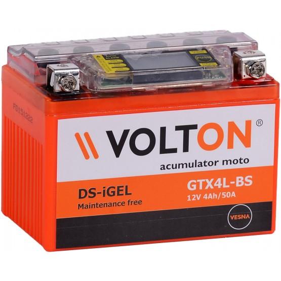 Baterie moto Volton DS-iGEL 12V 4Ah [0]