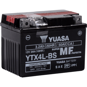 Baterie moto Yuasa AGM 12V 3Ah [0]