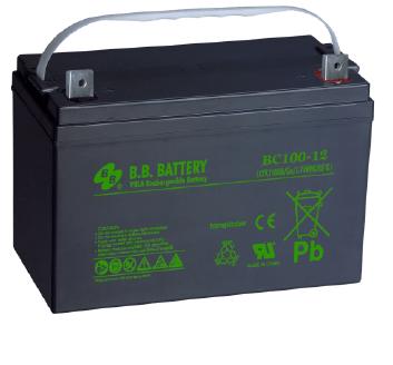 Acumulator stationar plumb acid BB BATTERY 12V 100Ah AGM VRLA [0]