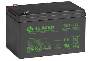 Acumulator stationar plumb acid BB BATTERY 12V 12Ah T2 AGM VRLA [0]