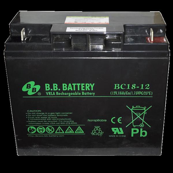 Acumulator stationar plumb acid BB BATTERY 12V 18Ah AGM VRLA [0]