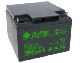 Acumulator stationar plumb acid BB BATTERY 12V 28Ah AGM VRLA [0]