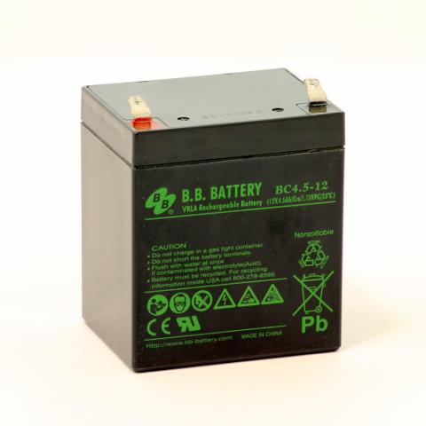 Acumulator stationar plumb acid BB BATTERY 12V 4.5Ah AGM VRLA [0]