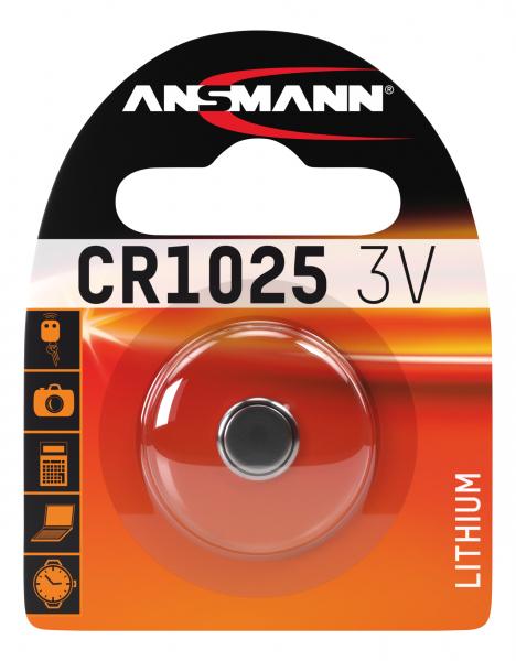 Baterie litiu CR1025 ANSMANN [0]