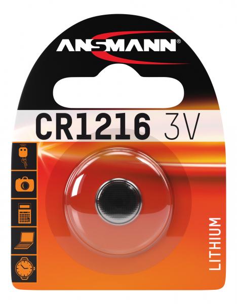 Baterie litiu CR1216 ANSMANN [0]