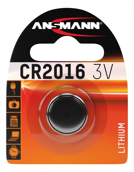 Baterie litiu CR2016 ANSMANN [0]