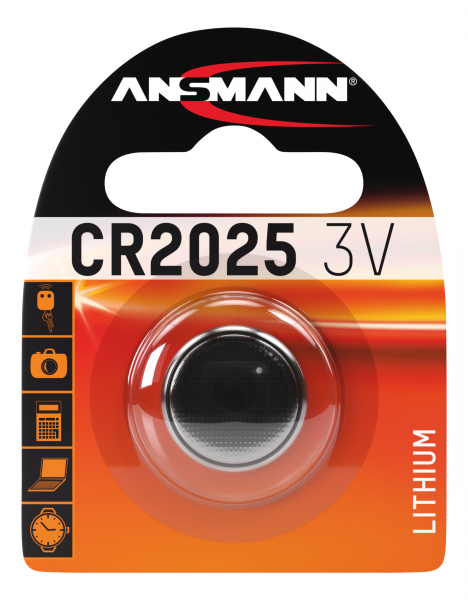 Baterie litiu CR2025 ANSMANN [0]