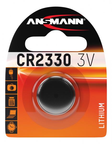Baterie litiu CR2330 ANSMANN [0]