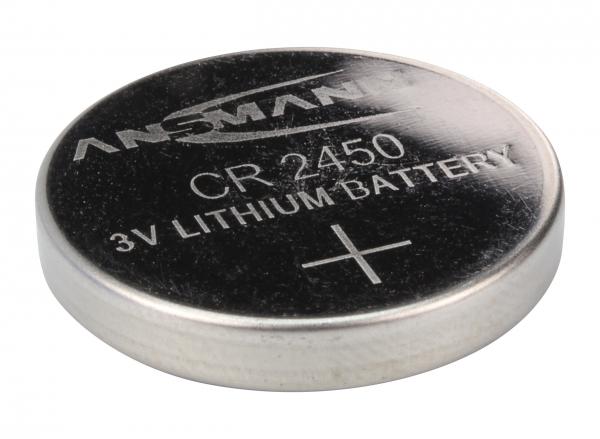 Baterie litiu CR2450 ANSMANN [1]