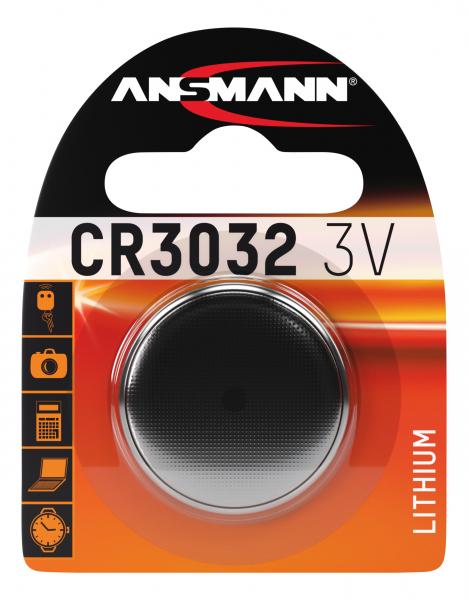 Baterie litiu CR3032 ANSMANN [0]