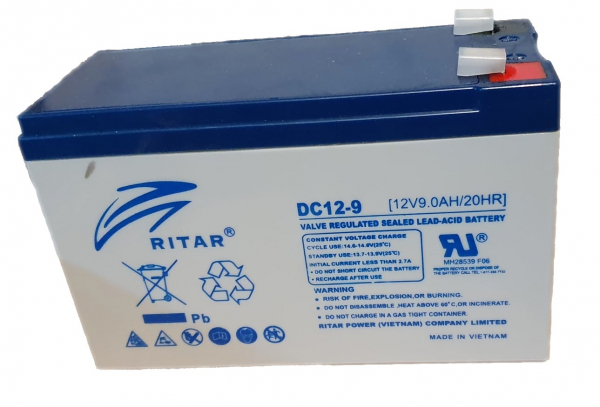 Acumulator stationar plumb acid RITAR 12V 9Ah AGM VRLA Deep Cycle [0]
