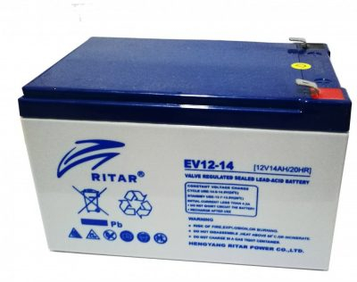 Acumulator stationar plumb acid RITAR 12V 14Ah AGM VRLA Deep Cycle [0]