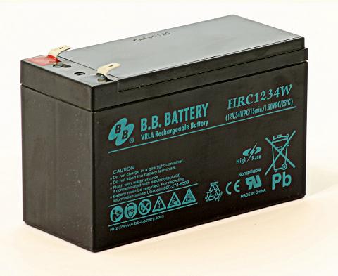 Acumulator stationar plumb acid BB BATTERY 12V 8.5Ah T2 AGM VRLA High Rate [0]
