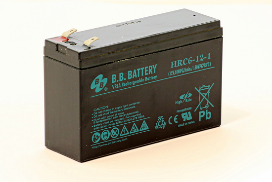 Acumulator stationar plumb acid BB BATTERY 12V 6Ah T2 AGM VRLA High Rate [0]