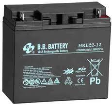 Acumulator stationar plumb acid BB BATTERY 12V 22Ah AGM VRLA High Rate / Longlife [0]