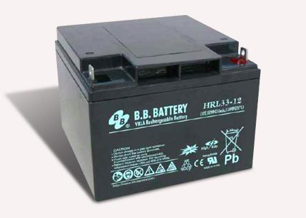 Acumulator stationar plumb acid BB BATTERY 12V 33Ah AGM VRLA High Rate / Longlife [0]