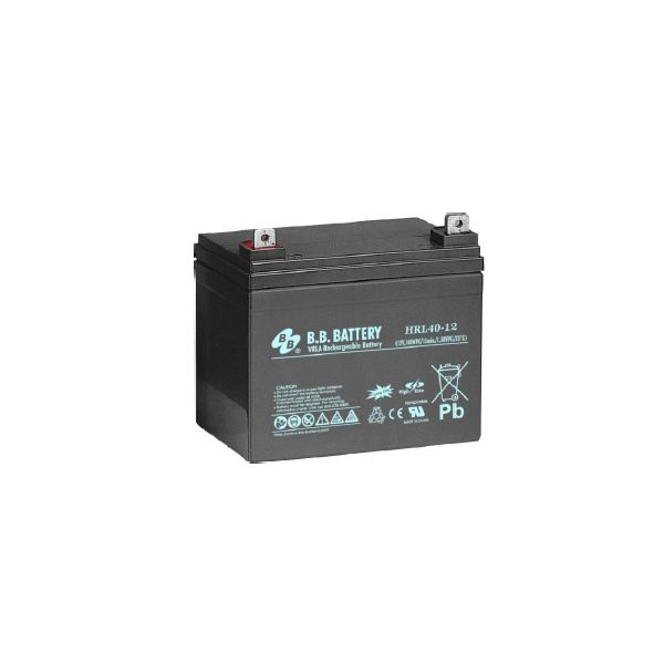 Acumulator stationar plumb acid BB BATTERY 12V 40Ah AGM VRLA High Rate / Longlife [1]