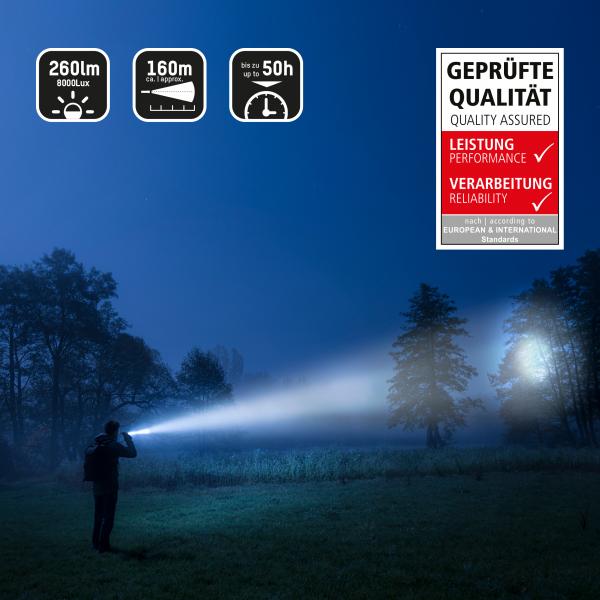 Lanterna profesionala LED 10W Future T500F ANSMANN [6]