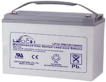 Acumulator stationar plumb acid LEOCH 12V 100Ah AGM VRLA Longlife [0]
