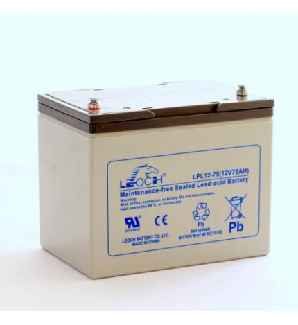 Acumulator stationar plumb acid LEOCH 12V 75Ah AGM VRLA Longlife [0]