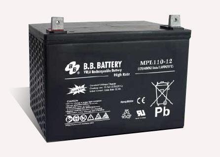 Acumulator stationar plumb acid BB BATTERY 12V 110Ah AGM VRLA High Rate / Longlife [0]