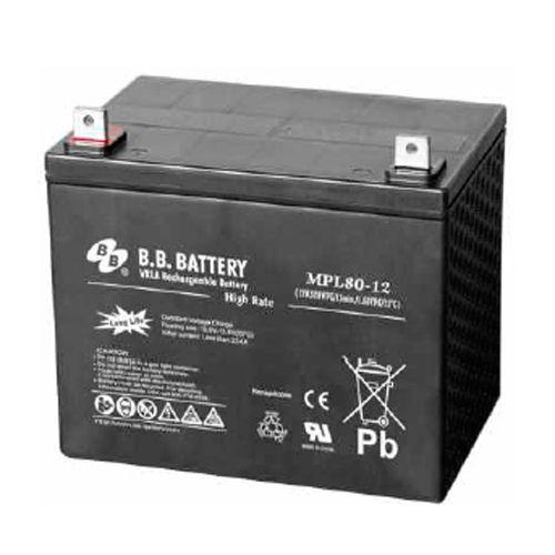 Acumulator stationar plumb acid BB BATTERY 12V 80Ah AGM VRLA High Rate / Longlife [0]