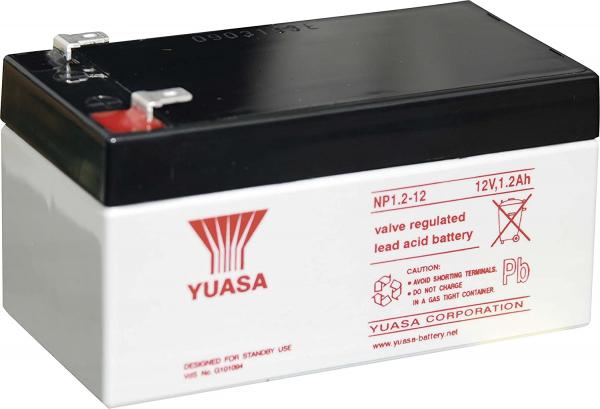 Acumulator stationar plumb acid YUASA 12V 1.2Ah AGM VRLA [1]