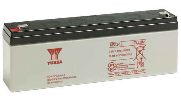 Acumulator stationar plumb acid YUASA 12V 2.3Ah AGM VRLA [0]