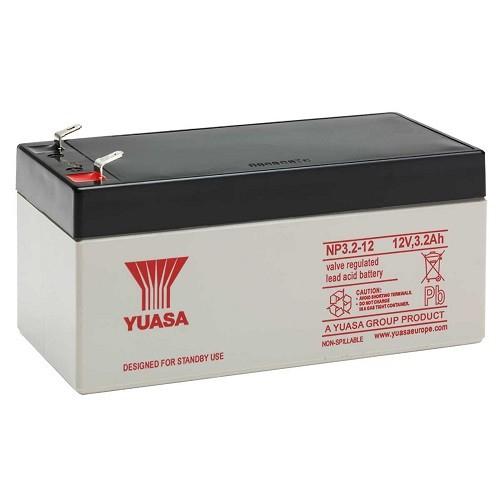 Acumulator stationar plumb acid YUASA 12V 3.2Ah AGM VRLA [0]