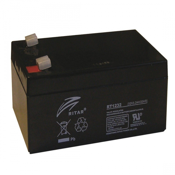 Acumulator stationar plumb acid RITAR 12V 3.2Ah AGM VRLA [0]