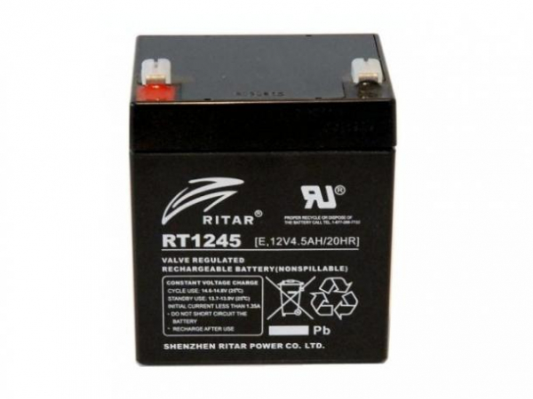 Acumulator stationar plumb acid RITAR 12V 4.5Ah AGM VRLA [0]