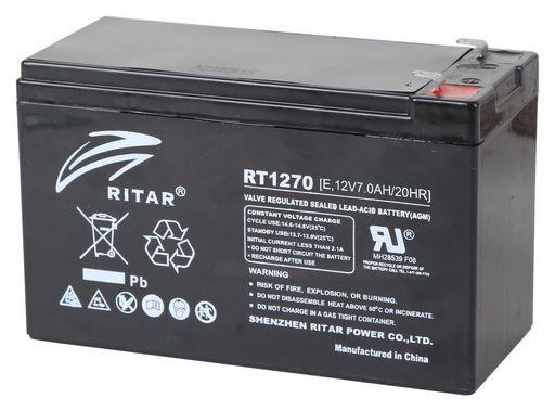 Acumulator stationar plumb acid RITAR 12V 7Ah AGM VRLA [0]